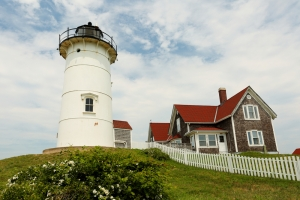 lighthouse in Falmouth MA
