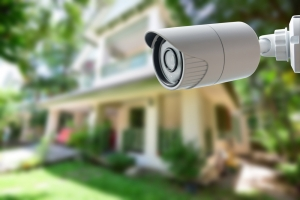 security camera outside home